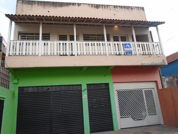 Casa Para Aluguel, 2 Quartos, 2 Vagas, Centro - Americana/sp - 4042