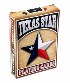 Baralho Texas Star Playing Cards