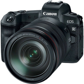 Canon Eos R Corpo + Lente Kit Rf24-105mm F4 Nova
