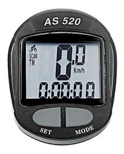 Ciclocomputador Assize As520 11 Funções Velocimetro Bike Mtb