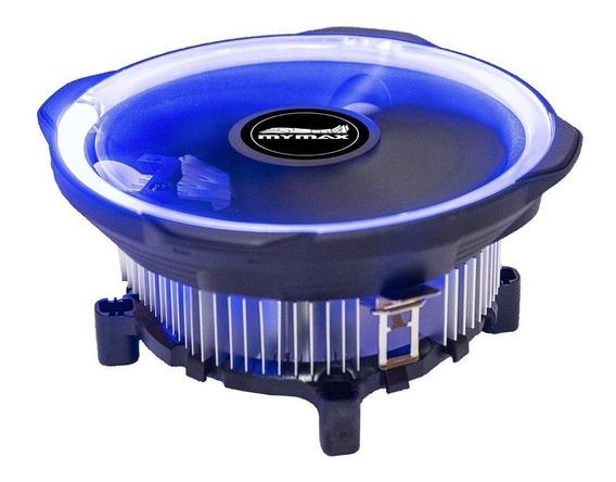 Cooler Universal Intel Amd Fan 120mm Led Azul Tdp 95w K727x