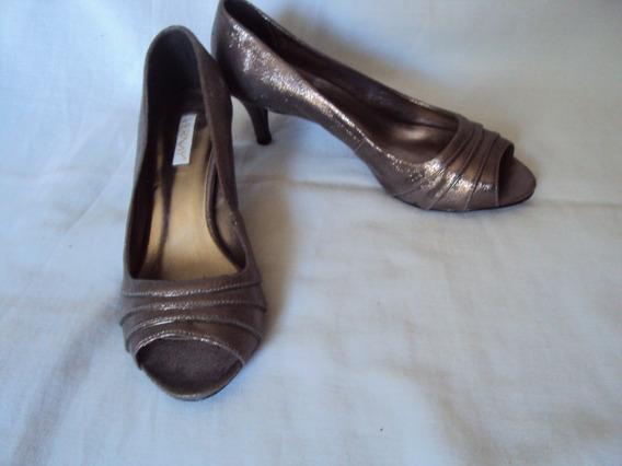 Sapato Para Festa Prata Vernay Tamanho 36