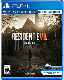 Resident Evil 7 Ps4 Físico Nuevo Sellado Envio Gratis