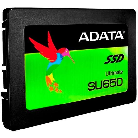 Ssd Ultimate 120gb 2.5 Pol Adata Su650 520mb/s Sata 6gb/s