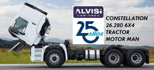 Volkswagen Constellation Tractor 26.280 6x4 + Iva