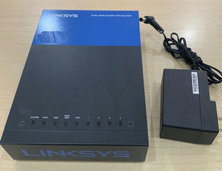 Linksys Lrt224 Dual Wan Gigabit Vpn Router Ruteador