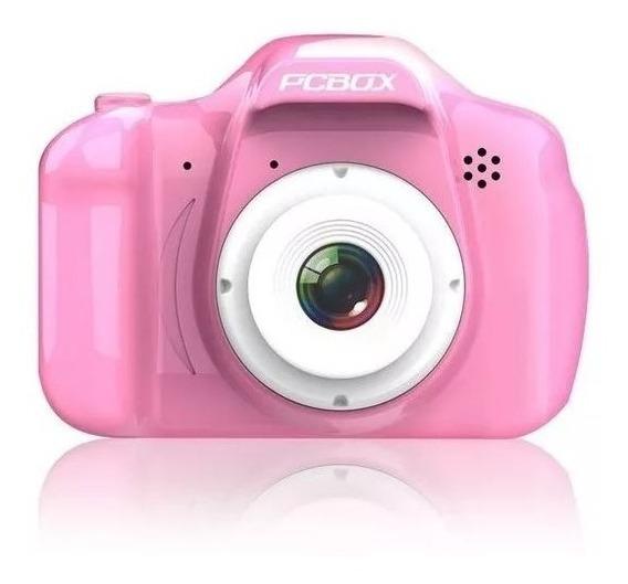 Camara Digital Pcbox Click Rosa Pcb-kcr Para Niños