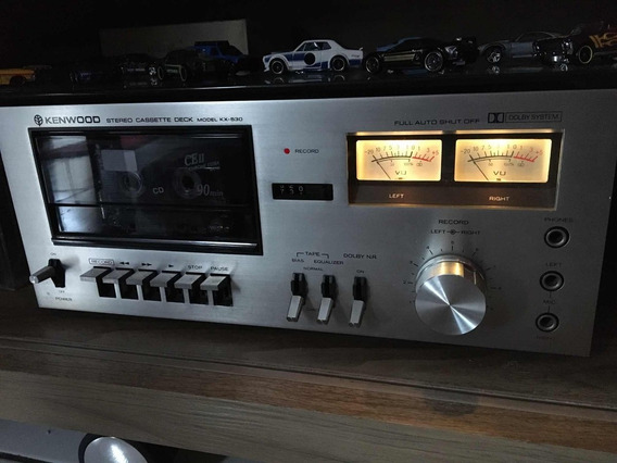 Tape Deck Kenwood Kx-530
