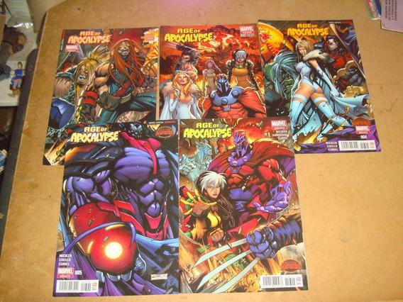X-men Age Of Apocalypse 5 Comics Tomos 001 Al 005