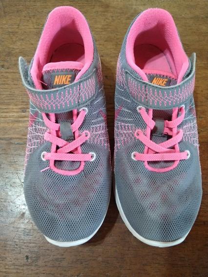 Zapatillas Nike Flex Fury Nena. Originales Usa