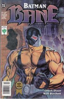 Comic Batman Bane Edicion De Coleccion Editorial Vid Español