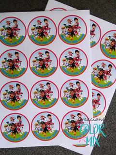 Sticker Etiquetas Personalizadas Candybar Candy Bar