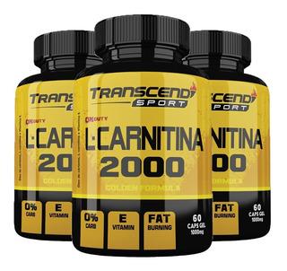 L-carnitina 2000 - 3x 60 Cápsulas - Katigua Sport