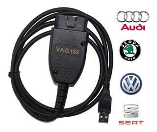 Scanner Vag Com 18.2 Vw Audi Seat Ross Tech Hex+can V2