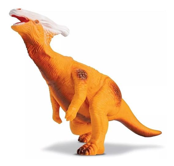 Dinossauro Parassaurolophus Jurassic 28cm, Grande, Meninos