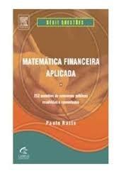Matemática Financeira Aplicada - Série Questões De Concurso