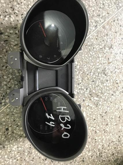 Painel De Instrumentos, Velocímetro E Conta Giro Hb 20 Ano 2