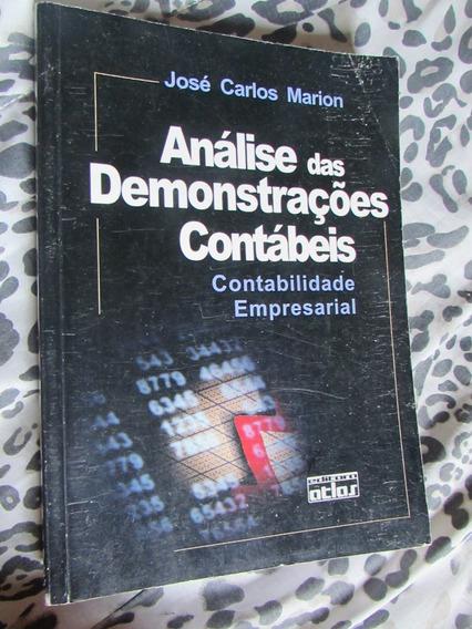 Análise Das Demonstrações Contábeis José Carlos Marion