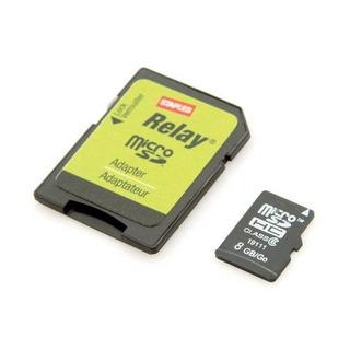 Cartão De Memória Micro Sdhc Adaptador 8gb Staples Classe 6