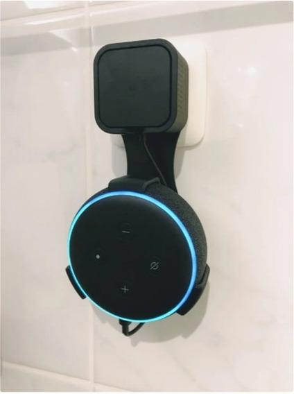 Suporte Para Alexa Echo Dot 3ª Geração - Kit Com 2 Unidades