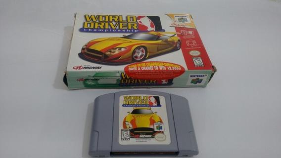 World Driver Championship - Com Caixa Original - Nintendo 64
