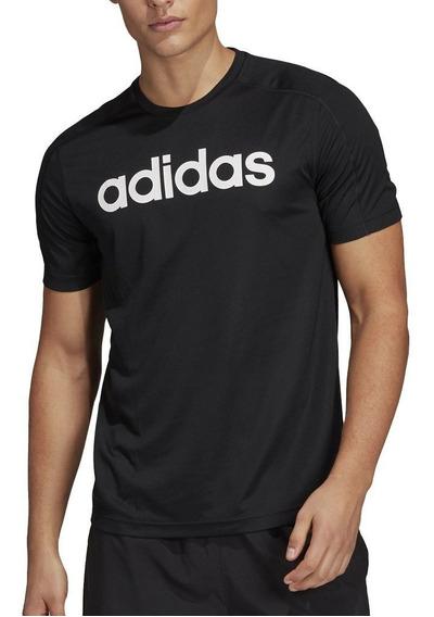 adidas Remera D2m Cool Negra - Hombre - Corner Deportes