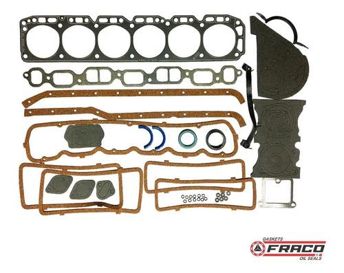 Juego Empaque Chevrolet 250 / 292 1962-79 Fraco Fs8006sb4