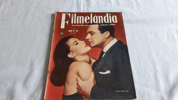 Revistas Filmelandia Nº 43 - Junho 1958 - Raridade