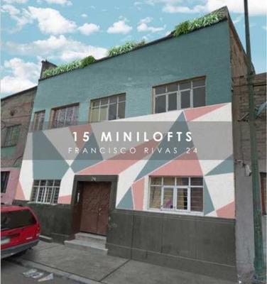 Minilofts En Venta, Colonia Obrera