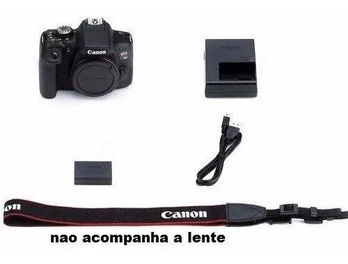 Câmera Canon Eos Rebel T6i - Nova - Pronta Entrega