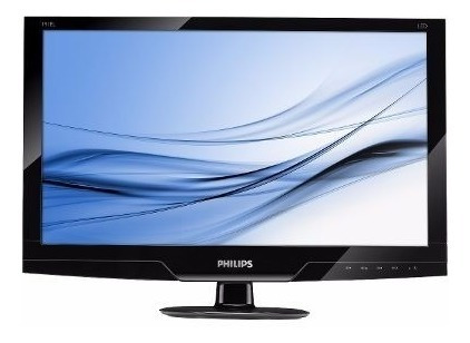 Monitor Philips 19 Led Com Entradas Vga E Dvi Promoção!!!