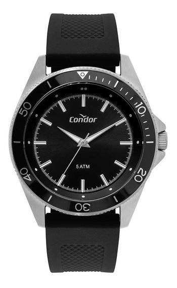 Relógio Condor Casual Masculino Prata Co2035mtk/3p