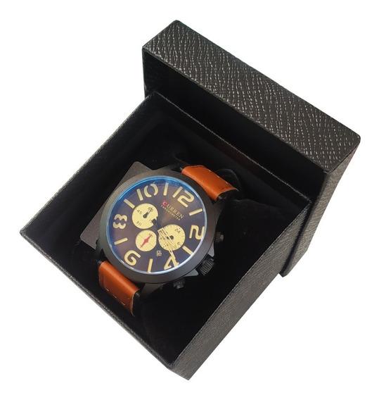 Relógio Curren Sport Luxo Casual Curren Original + Caixa