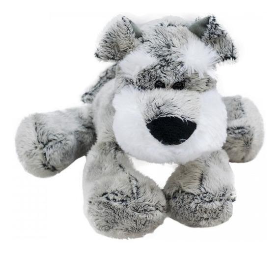 Cachorro Schnauzer 32cm - Pelúcia, -fazendinha Lindo