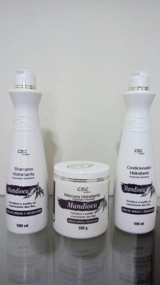 Kit Reconstruçao Cdc Mandioca 3 X 500ml
