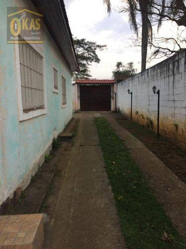 Imagem 1 de 30 de Chácara Com 5 Dormitórios À Venda, 1820 M² Por R$ 900.000 - Chácaras Reunidas Guaio - Suzano/sp - Ch0049