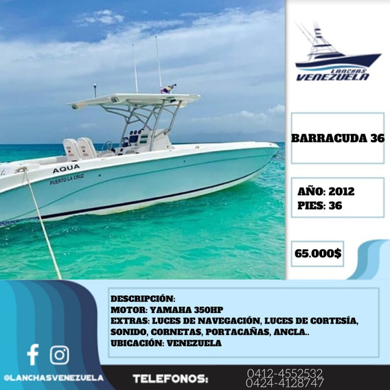 Lancha Barracuda 36 Lv377