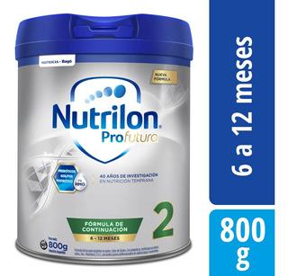 Nutrilon Profutura 2 X 800 Gr Leche En Polvo Para Bebe