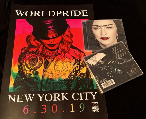 Madonna Madame X Versão Standard Pronta Entrega + Poster