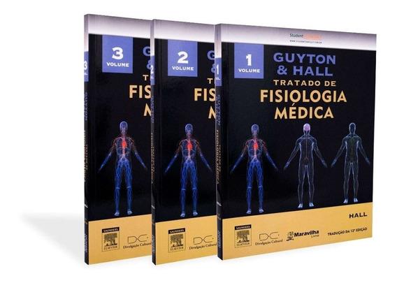 Guyton & Hall Tratado De Fisiologia Médica - Vol. 1, 2 E 3