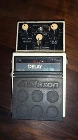 Pedal Maxon Digital Delay Japan Vintage 80/90s