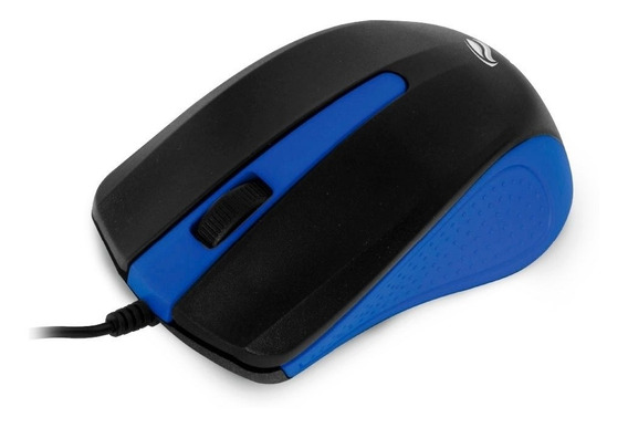 Mouse Óptico C3tech 1000dpi Ms-20bl - Preto/azul