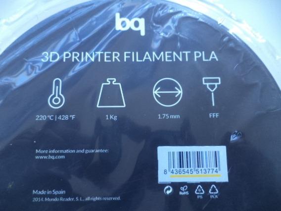 Filamento 3d Printer Pla Amarelo 1,75mm 1kg