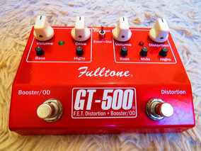 Fulltone Gt500 Distortion Overdrive Boost .... Ocd Fulldrive