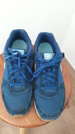 Tênis Nike Seminovo Azul Marinho / Branco N. 42