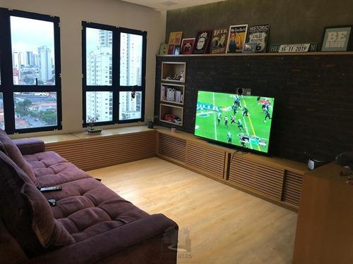 Imagem 1 de 15 de Lindo Apartamento No Anália Franco 70 M, 2 Dorm. - 3755-1