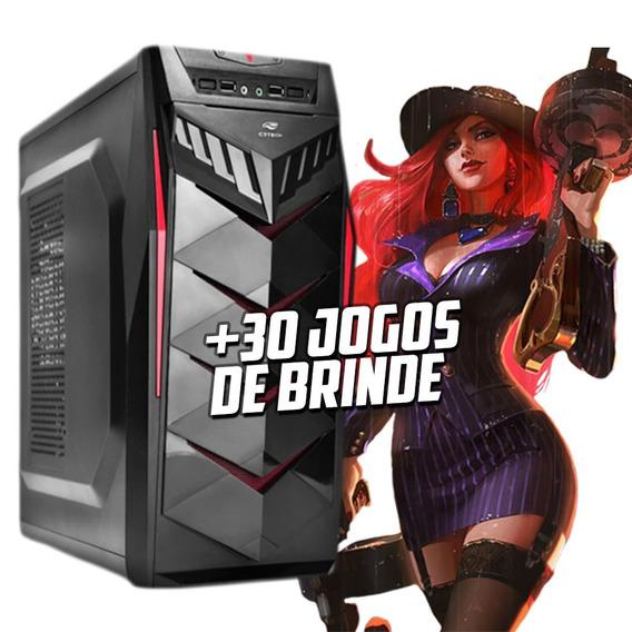 Cpu Intel 7ª Ger I3 9100f 6mb 3.6ghz, 4gb Ddr4 , Rx 550