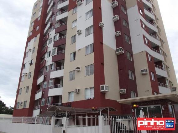 Apartamento 02 Dormitórios, Residencial San Marco, Vende, Bairro Ipiranga, São José, Sc - Ap01010