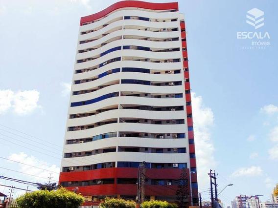 Apartamento Com 3 Quartos À Venda, 150 M², Estar Íntimo, 3 Vagas, Financia - Papicu - Fortaleza/ce - Ap1246