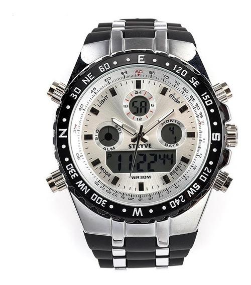 Reloj Hombre Nuevo Stryve Militar Navy Seal Sport Analogo